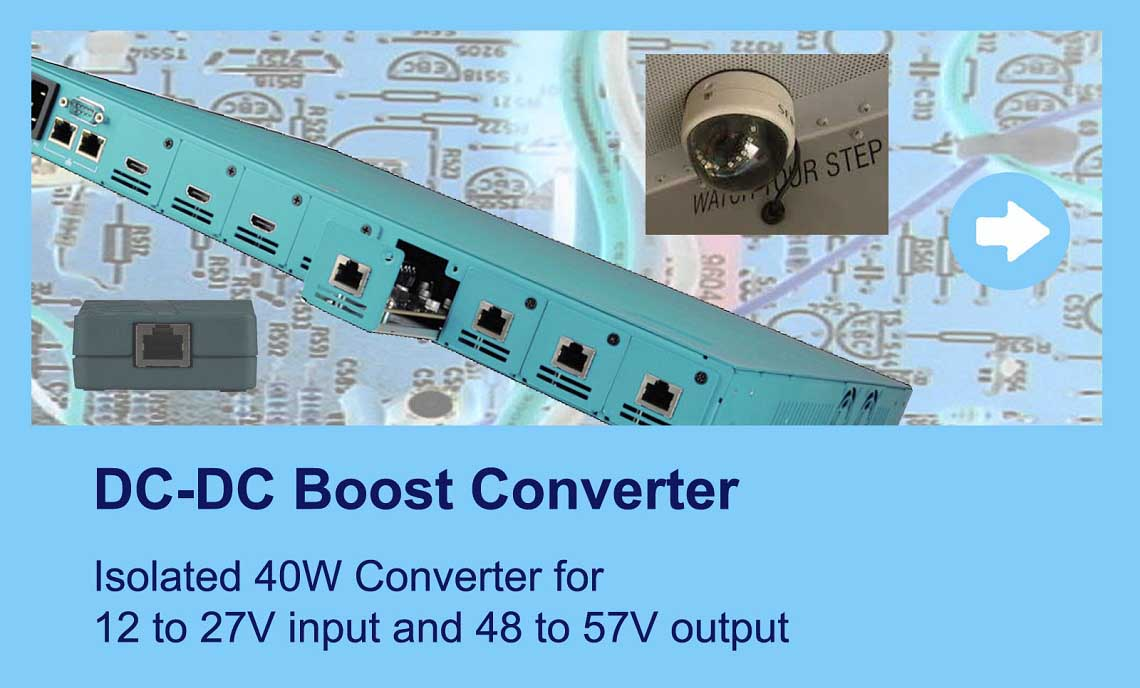 Product Family DC Boost converter