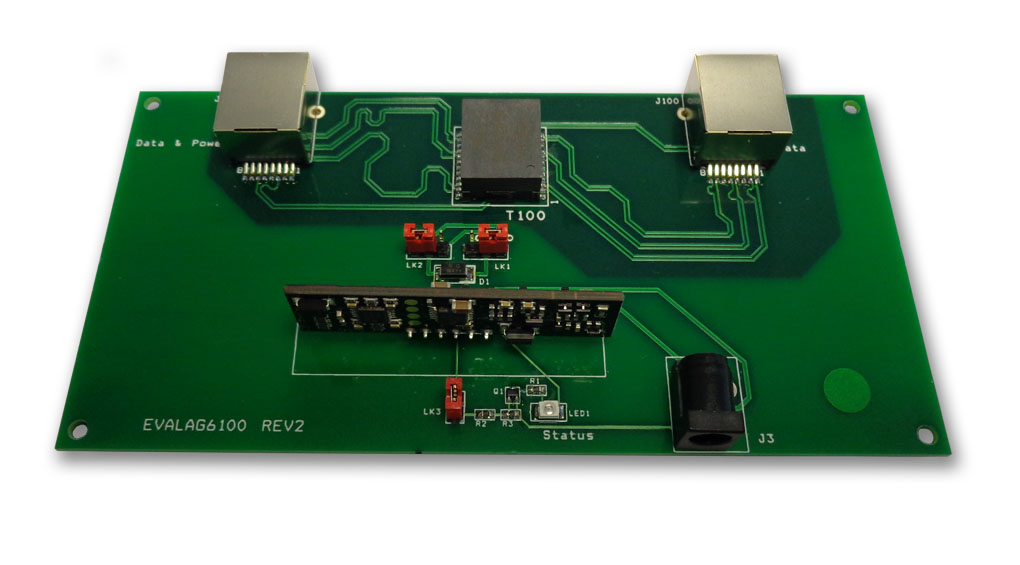 Ag6100 Evaluation board